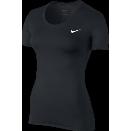 Nike Pantaloncino Palestra Train Bande Di Lato Nero Donna