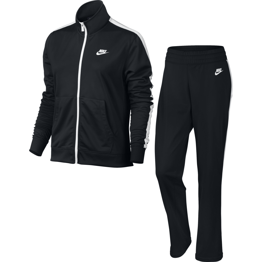 Nike Tuta Poly Zip Basic Nero Donna 830345 010 Acquista