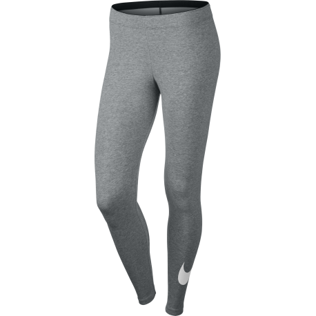 Nike Legging Club Logo 2 Train Grigio Donna