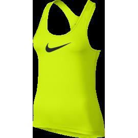 Nike Tank Swoosh Train Donna Black