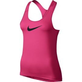 Nike Tank Swoosh Train Donna Pink/Wht