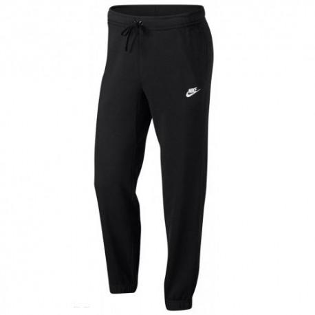 Nike Pantalone Ft C/Elast Lgo Black