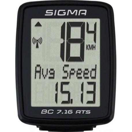 Sigma Ciclocomputer Bc 7.16/Ats Wireless