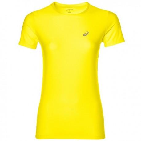 Asics T-shirt Mm Run Donna Diva Pink