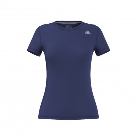 Adidas T-shirt Donna Mm Prime Train Blu