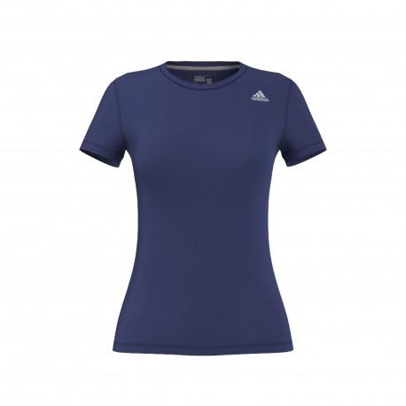 Adidas T-shirt Donna Mm Prime Train Avio