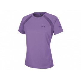 Salewa T-Shirt Donna Puez Sporty Aster