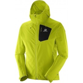 Salomon Softshell Ranger Lime Punch