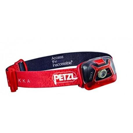 Petzl Lampada Tikka 200 Lumen  Rosso