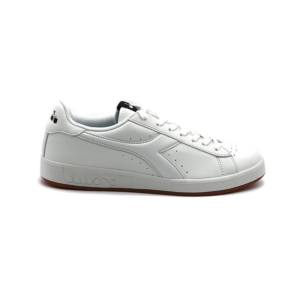 Diadora Scarpe Sportive Sneakers Sportswear GAME P Uomo 2019 Bianco Verde
