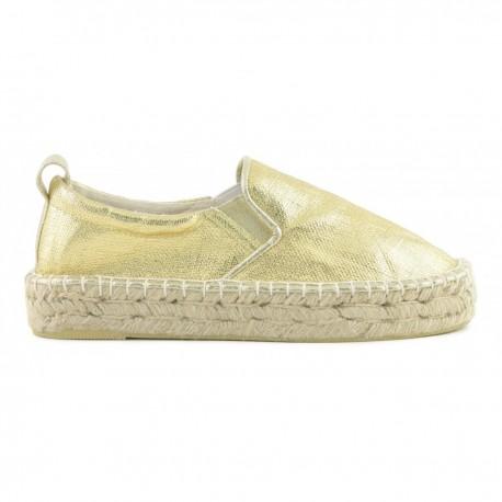 Colors Of California Sandalo Suola In Paglia  Oro