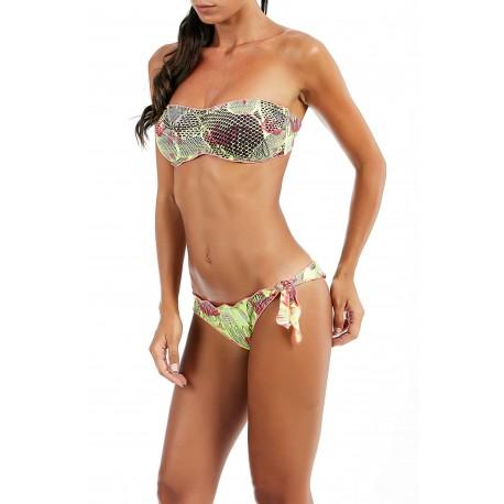 Effek Bikini Con Fascia Fantasia Giallo