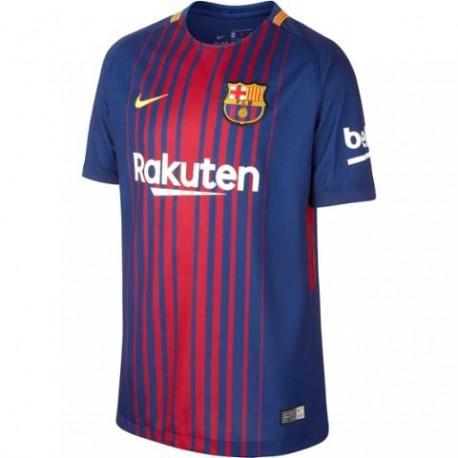 Nike T-Shirt Mm Fcb Home Royal/Gold Junior