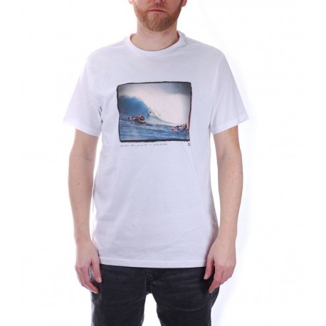 Billabong T-Shirt Foto Surf - Onda Bianco