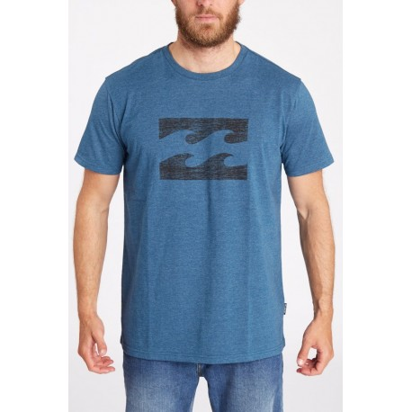 Billabong T-Shirt Logo Blu
