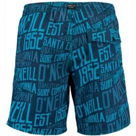O'neill Boxer Con Scritte Blu