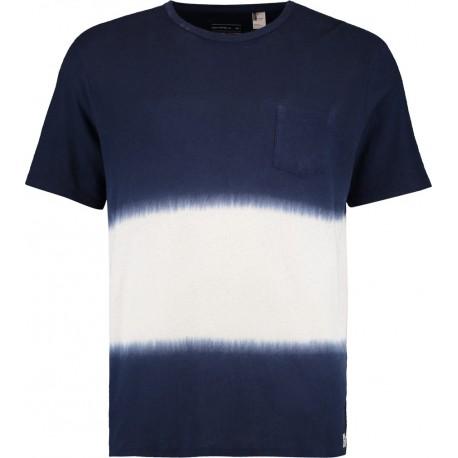 O'neill T-Shirt Stampa Bicolore Blu