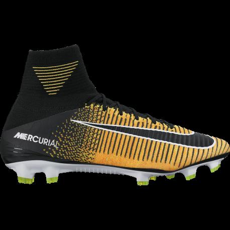 Nike Scarpa Mercurial Superfly V Fg Giallo / Nero