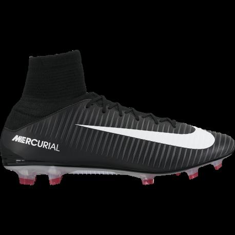 Nike Scarpa Mercurial Veloce III Df Fg Nero / Bianco
