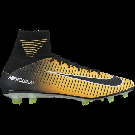Nike Scarpa Mercurial Veloce III Df Fg Giallo / Nero