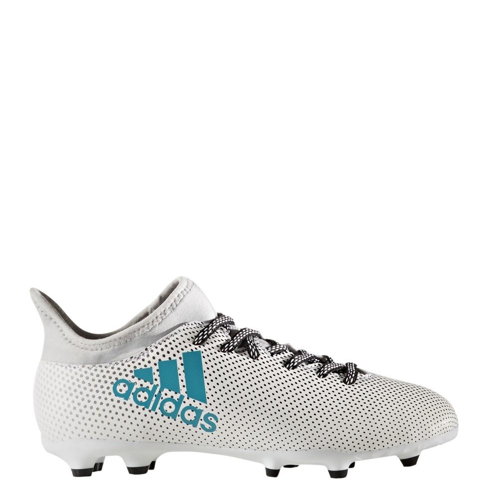 Adidas X 17.3 FG Bianco/Azzurro Bambino 1IZsP6Ci