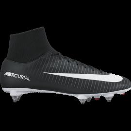 Nike Scarpa Mercurial Victory VI Df Sg Black/White
