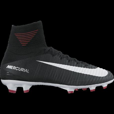Nike Scarpa Jr Mercurial Superfly V Df Fg Nero/Bianco