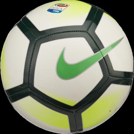 Nike Pallone Serie A Pitch Bianco/Nero