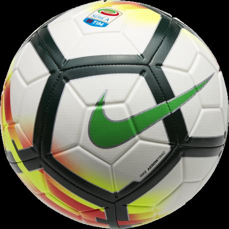 Nike Pallone Serie A Strike Bianco/Nero