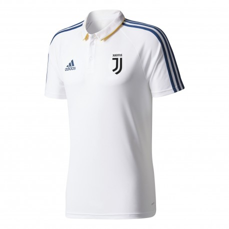 Adidas Polo Mm Juve  Bianco/Royal