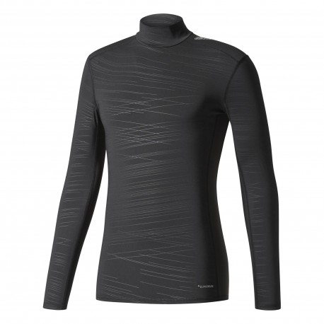 Adidas Lupetto Ml Techfit Climawarm  Nero