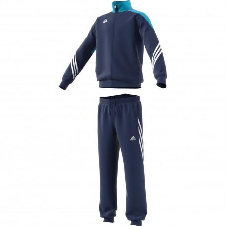 Adidas Tuta bambino Sere Pes  Blu/Bianco