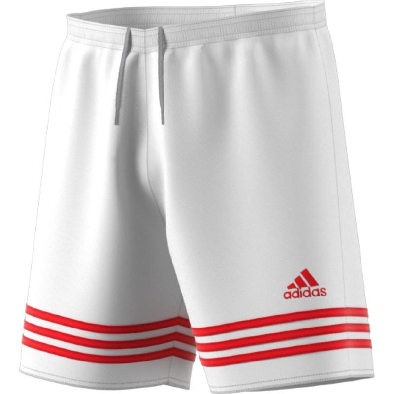 ADIDAS short entrada 14 team bianco rosso f50636 - Acquista online ... 5b7129dd4a0