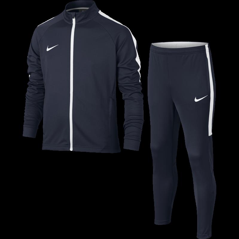 2146faf1c9d6 Nike Tuta bambino Dry Academy Obsidian/White 844714-451 - Acquista ...