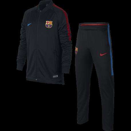 Nike Tuta bambino Fcb Sqd  Nero