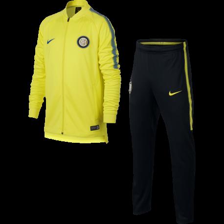 Nike Tuta bambino Inter Sqd  Giallo/Royal
