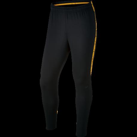 Nike Pantalone Dry Sqd  Nero/Arancio