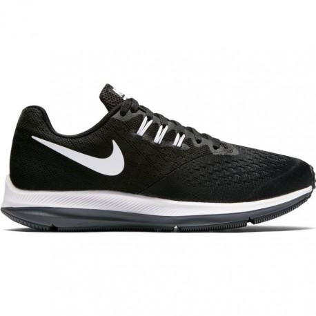 Nike Scarpa Donna Zoom Winflo 4 Black/White ...