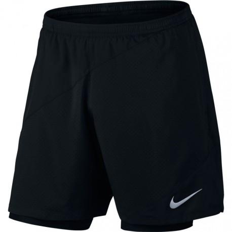 Nike Flx 2in1 7in Run Distance    Black