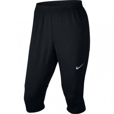Nike Pant 3qt Rn Flx Dry Phnm    Black