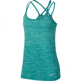 Nike Canotta Donna  Run Df Knit    Igloo/Turbo Green