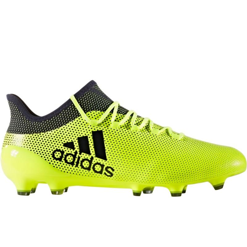 Adidas X 17.1 FG Nero/Giallo