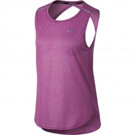 Nike Canotta Donna  Run Brthe    Bold Berry/Htr