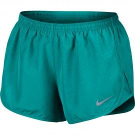 Nike Short Donna  Run Dry Mod Tempo  Turbo Green