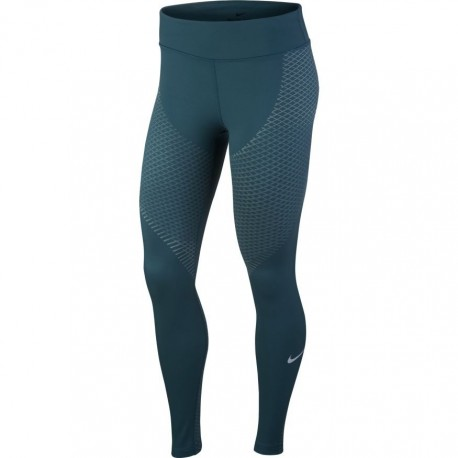 Nike Tght Donna  Rn Znl Str    Space Blue/Igloo