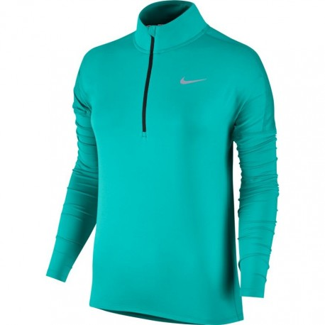 Nike T-Shirt Donna  Ml Rn Element Hz    Turbo Green/Htr
