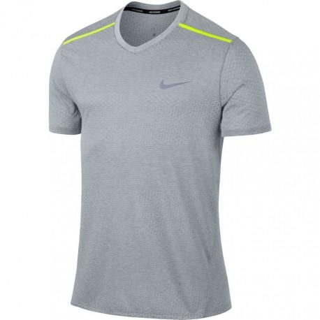 Nike T-Shirt Mm Run Brthe Tailwind Clv    Wolf Grey