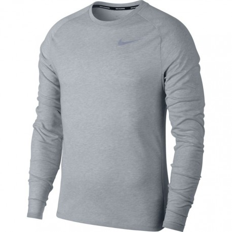 Nike T-Shirt Ml Run Brt Tailwind Wolf Grey