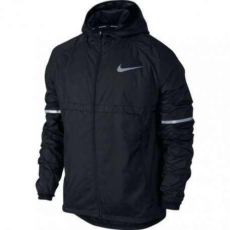 Nike Jkt Run Shld Hd    Black