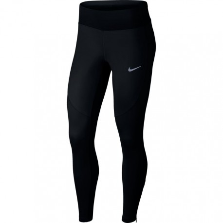 Nike Tight Donna  Run Shld    Black